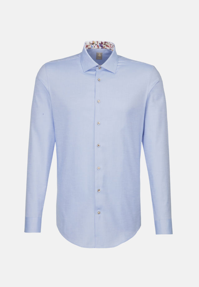 Oxford Business Hemd in Slim Fit mit Kentkragen in Hellblau |  Jacques Britt Onlineshop