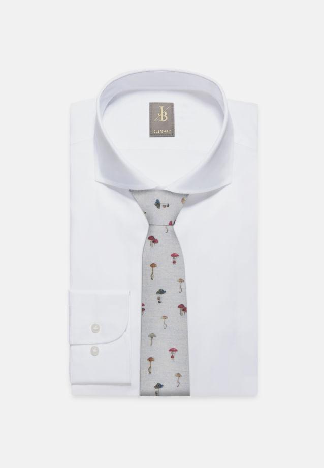 Krawatte aus Woll-seidenmischung 7 cm Breit in Beige |  Jacques Britt Onlineshop