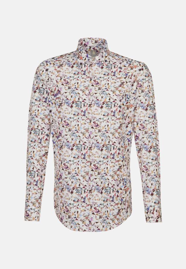 Popeline Business Hemd in Custom Fit mit Kentkragen in Rosa/Pink |  Jacques Britt Onlineshop
