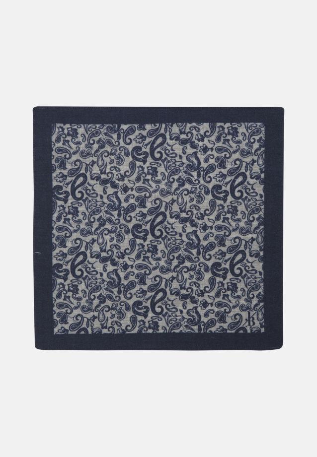 Einstecktuch aus 100% Wolle in Mittelblau |  Jacques Britt Onlineshop