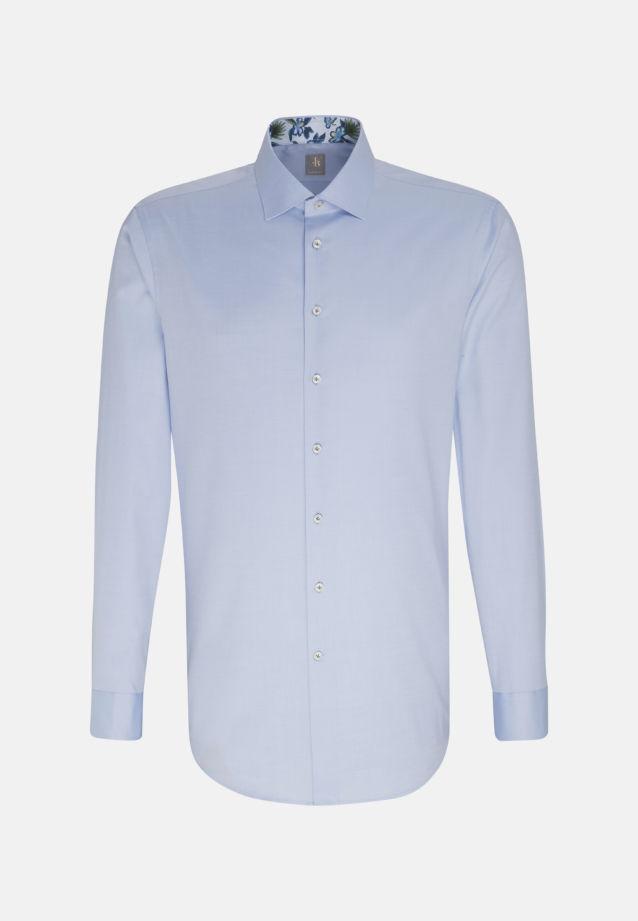 Twill Business Hemd in Custom Fit mit Kentkragen in Hellblau    Jacques Britt Onlineshop