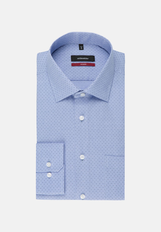 Easy-iron Oxford Business Shirt in Regular with Kent-Collar in Light blue |  Seidensticker Onlineshop