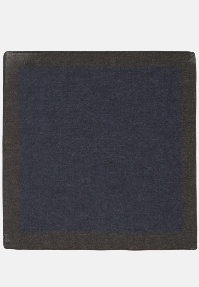 Einstecktuch aus 100% Wolle in navy |  Seidensticker Onlineshop