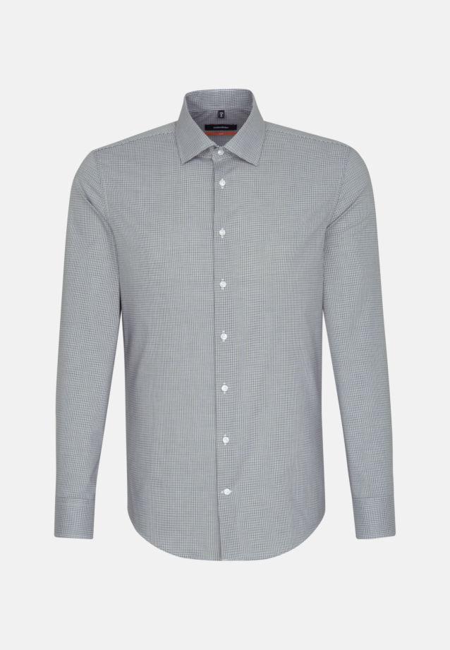 Bügelfreies Popeline Business Hemd in Slim mit Kentkragen in Grün |  Seidensticker Onlineshop