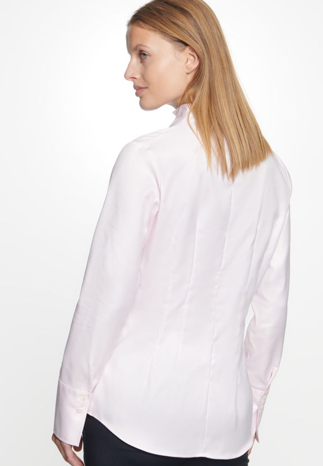 Long arm Twill Chalice Blouse made of 100% Cotton in Pink |  Seidensticker Onlineshop