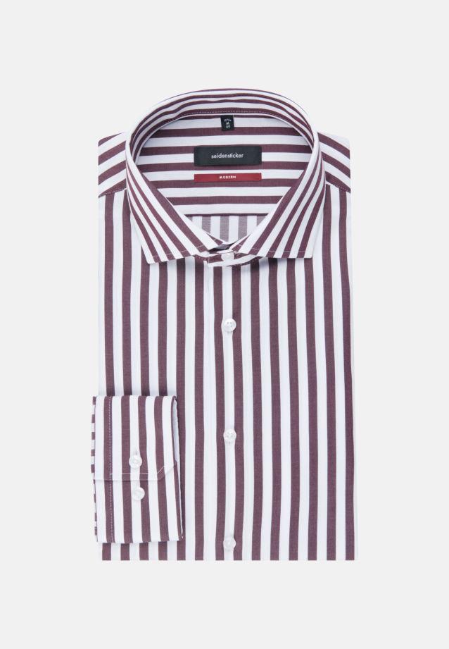 Bügelfreies Twill Business Hemd in Modern mit Kentkragen in Rot |  Seidensticker Onlineshop