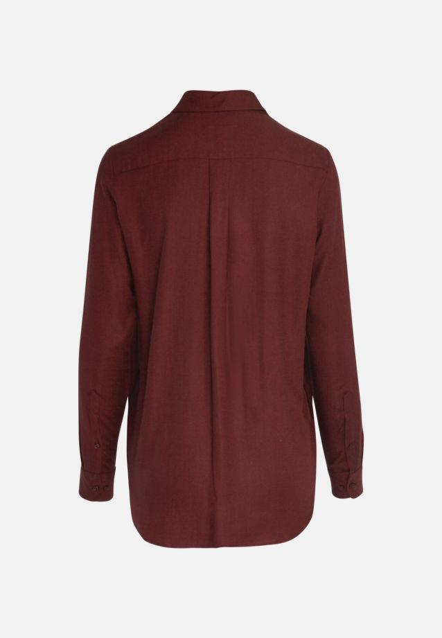 Twill Hemdbluse aus 100% Viskose in Rot |  Seidensticker Onlineshop