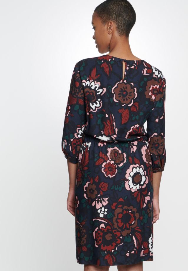 3/4 arm Twill Dress made of 100% Viskose in Dark Sapphire |  Seidensticker Onlineshop