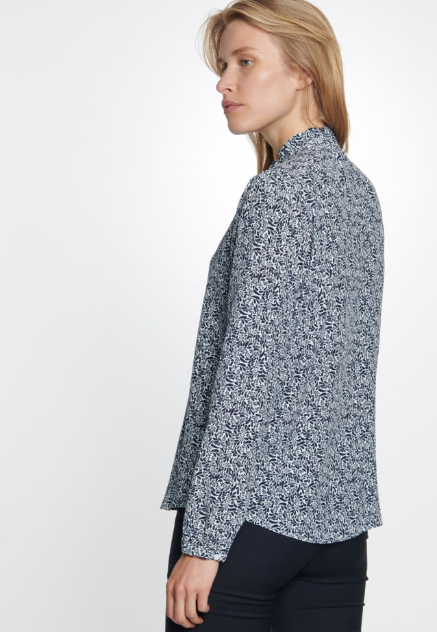 Crepe Stand-Up Blouse made of 100% Viskose in offwhite |  Seidensticker Onlineshop