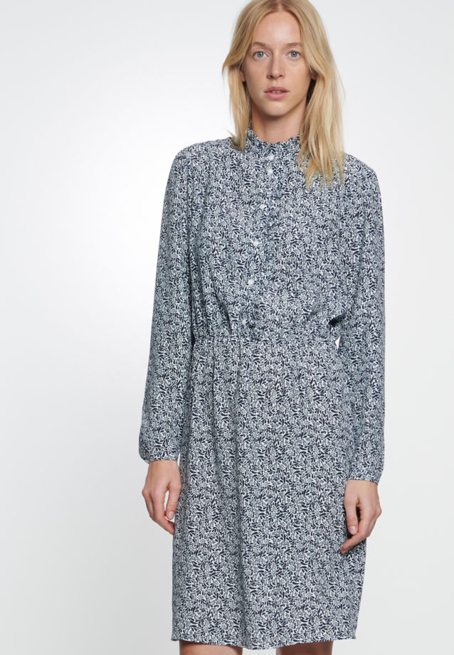 Crepe Dress made of 100% Viskose in Ecru |  Seidensticker Onlineshop