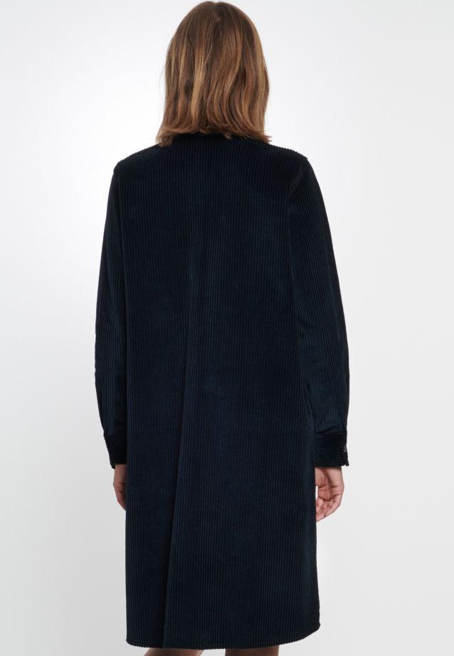 Corduroy Dress made of 100% Cotton in blau |  Seidensticker Onlineshop