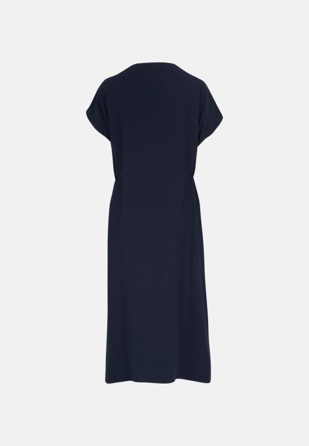 Sleeveless Crepe Dress made of 86% Rayon 14% Polyethylen in Navy Blazer |  Seidensticker Onlineshop
