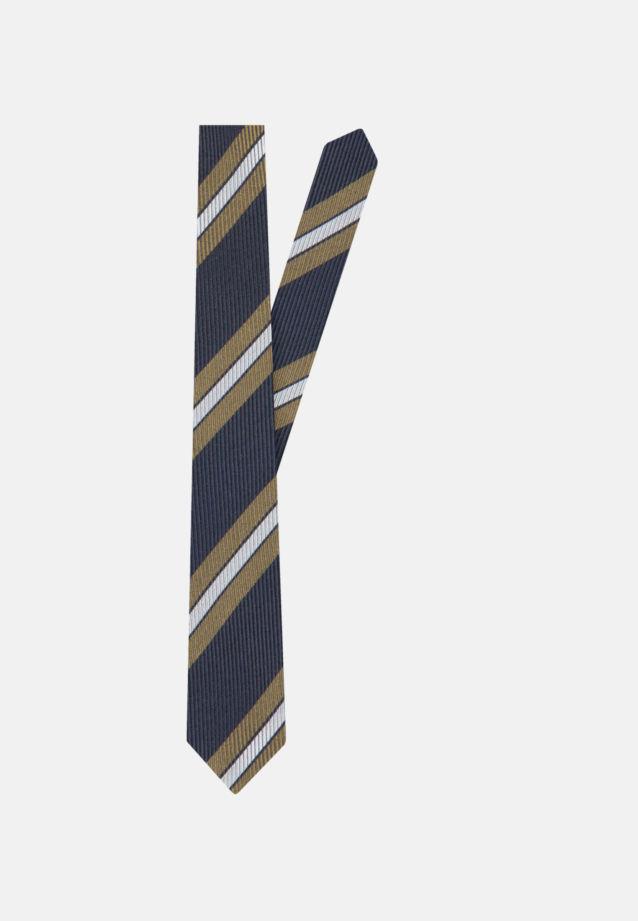 Tie made of 100% Silk 5 cm wide in ocker |  Seidensticker Onlineshop