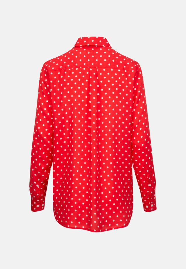 Voile Shirt Blouse made of 100% Viscose in Red |  Seidensticker Onlineshop