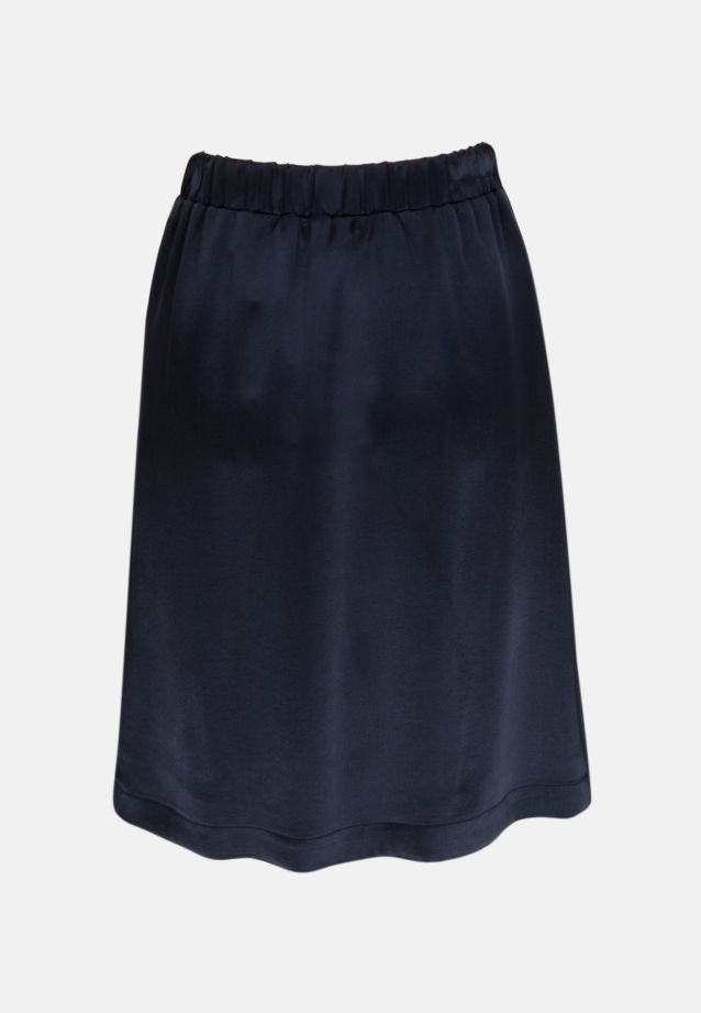 Crepe Skirt made of 86% Rayon 14% Polyethylen in Dark blue |  Seidensticker Onlineshop