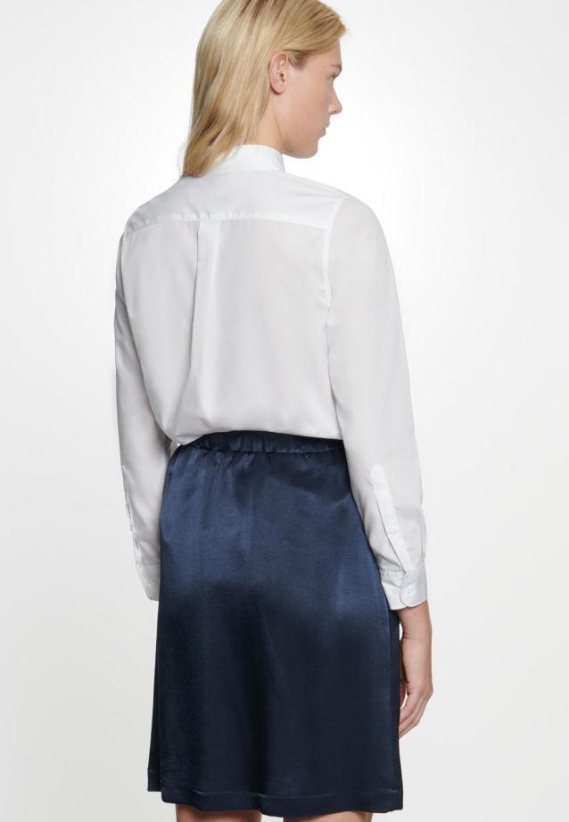 Crepe Mini Skirt made of 86% Rayon 14% Polyethylen in Dark blue |  Seidensticker Onlineshop