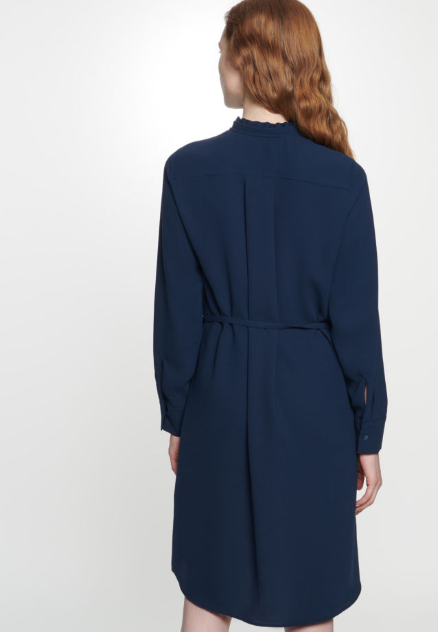 Poplin Dress made of 100% Polyester in Dark blue |  Seidensticker Onlineshop