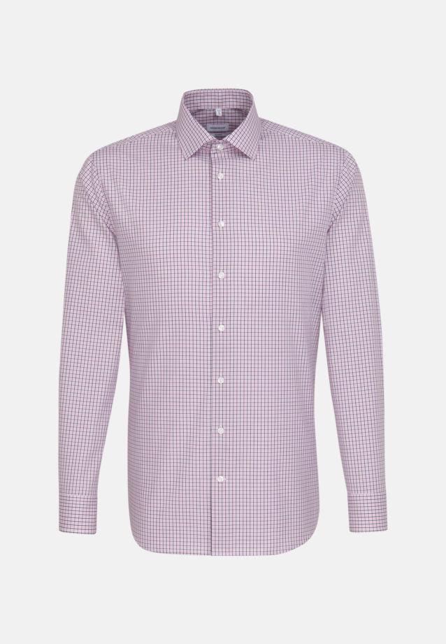 Bügelfreies Popeline Business Hemd in Tailored mit Kentkragen in Rosa/Pink |  Seidensticker Onlineshop
