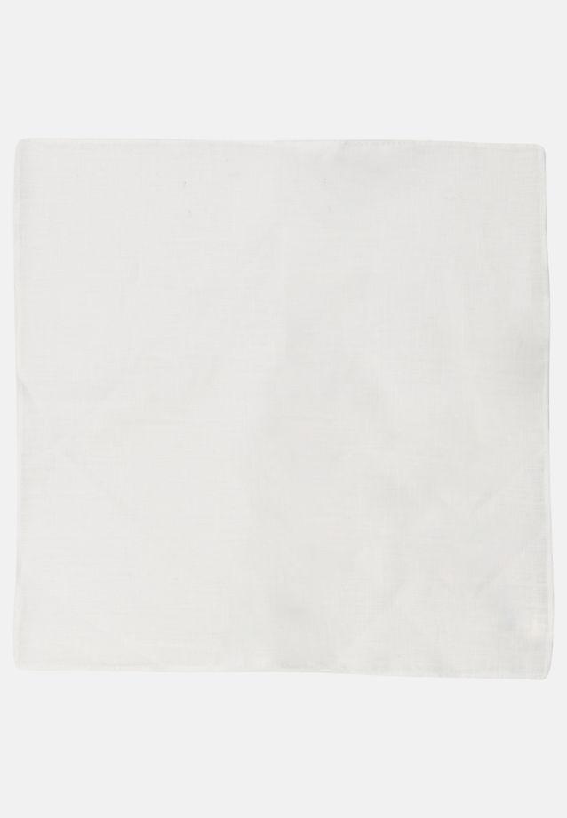 Einstecktuch aus 100% Leinen in Weiß |  Seidensticker Onlineshop