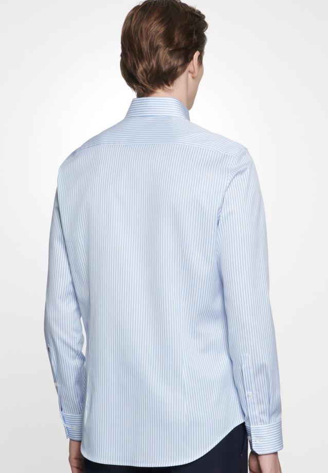 Easy-iron Piqué Business Shirt in Slim with Kent-Collar in Light blue |  Seidensticker Onlineshop
