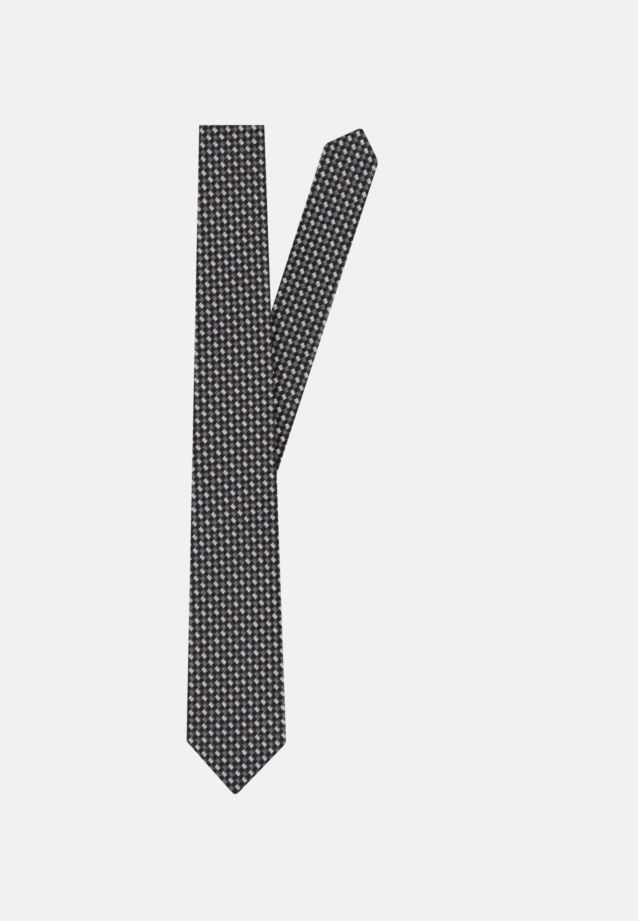 Tie made of 100% Silk 5 cm wide in Black |  Seidensticker Onlineshop