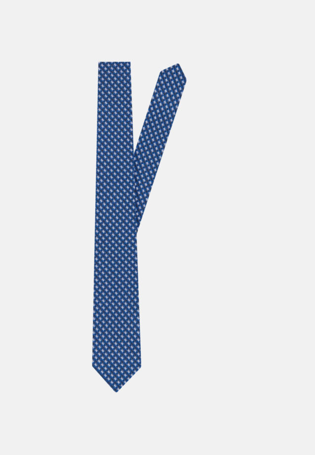 Tie made of 100% Silk 5 cm wide in Medium blue |  Seidensticker Onlineshop