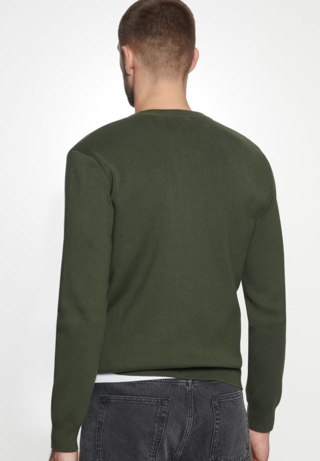 Knit Bomber made of 100% Cotton in Green |  Seidensticker Onlineshop