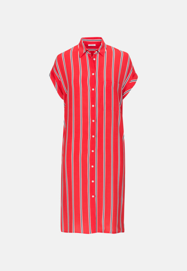 Crepe Midi Dress made of 100% Viscose in Red |  Seidensticker Onlineshop