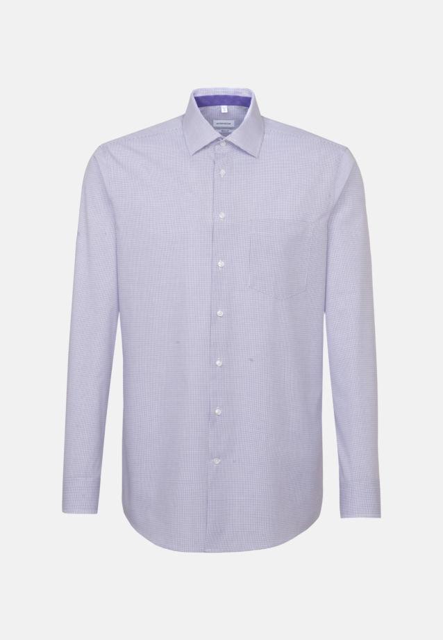 Non-iron Poplin Business Shirt in Regular with Kent-Collar in Purple |  Seidensticker Onlineshop