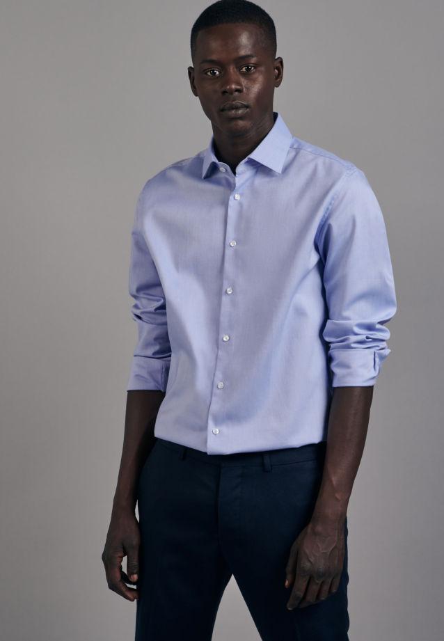 Non-iron Oxford Business Shirt in Slim with Kent-Collar in Light blue |  Seidensticker Onlineshop