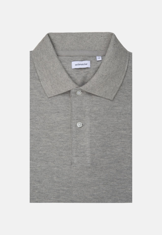 Polo-Shirt made of 100% Cotton in Grey |  Seidensticker Onlineshop