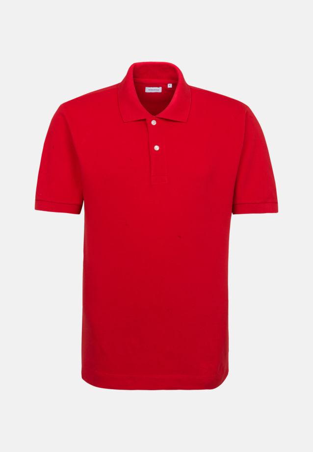 Collar Polo-Shirt made of 100% Cotton in Red |  Seidensticker Onlineshop
