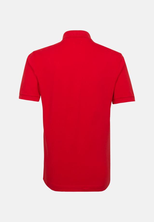 Kragen Polo-Shirt aus 100% Baumwolle in Rot |  Seidensticker Onlineshop
