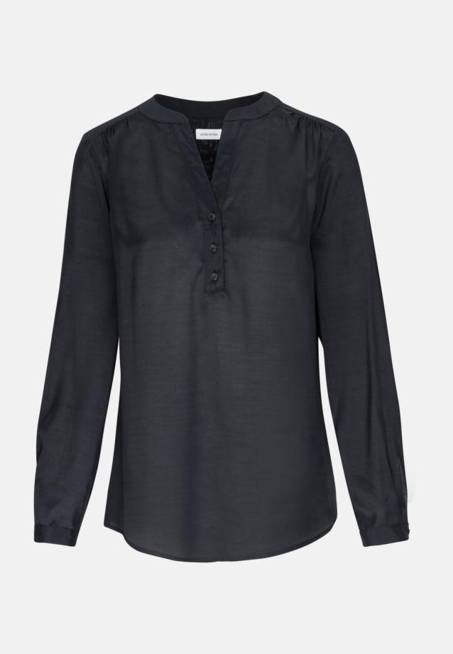 Voile Tunic made of 100% Viscose in Black |  Seidensticker Onlineshop
