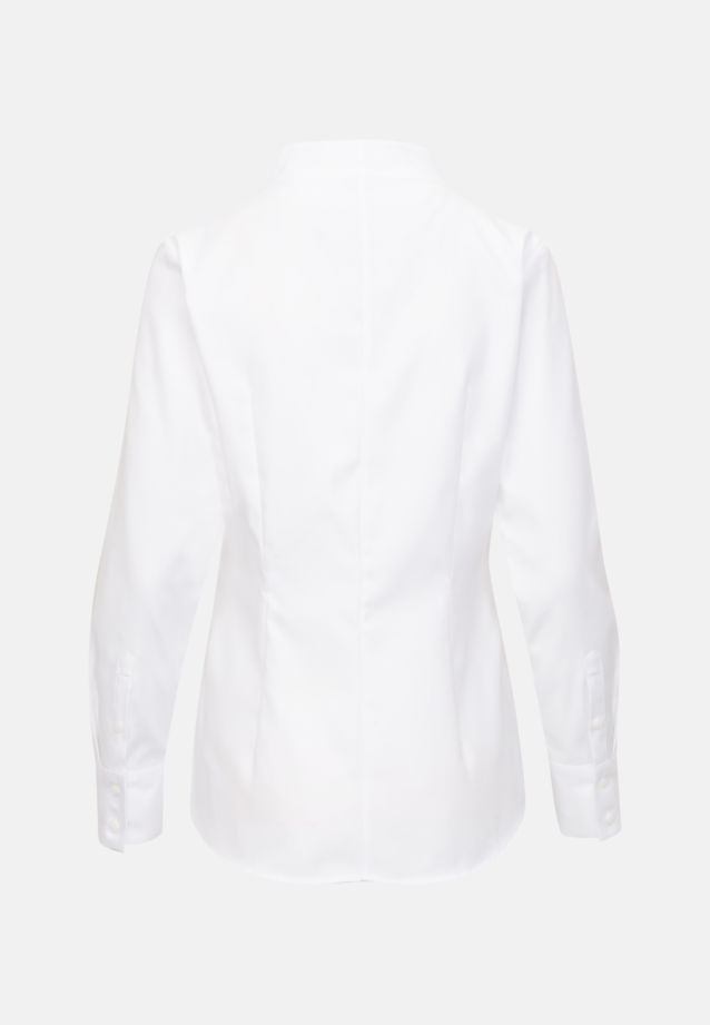 Twill Chalice Blouse made of 100% Cotton in White |  Seidensticker Onlineshop