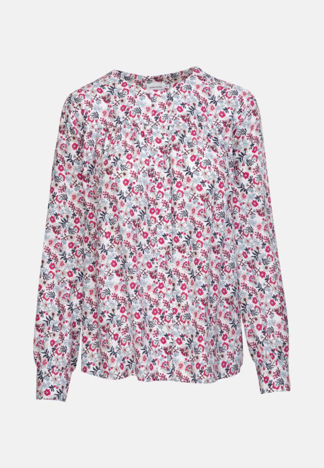 Twill Shirtbluse aus 100% Viskose in Weiß |  Seidensticker Onlineshop