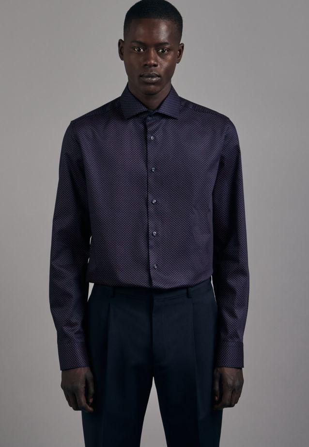 Bügelleichtes Twill Business Hemd in X-Slim mit Kentkragen in Rot |  Seidensticker Onlineshop