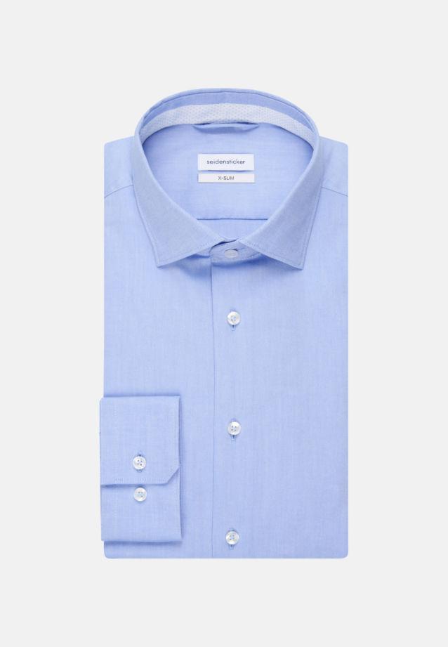 Non-iron Oxford Business Shirt in X-Slim with Kent-Collar in Light blue |  Seidensticker Onlineshop