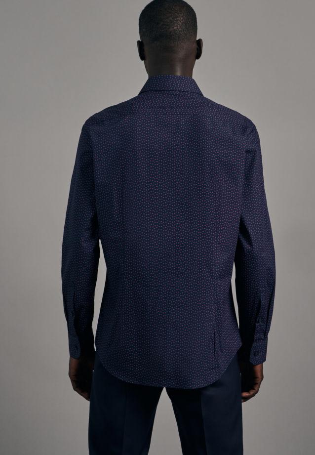 Easy-iron Poplin Business Shirt in Shaped with Kent-Collar in Pink |  Seidensticker Onlineshop
