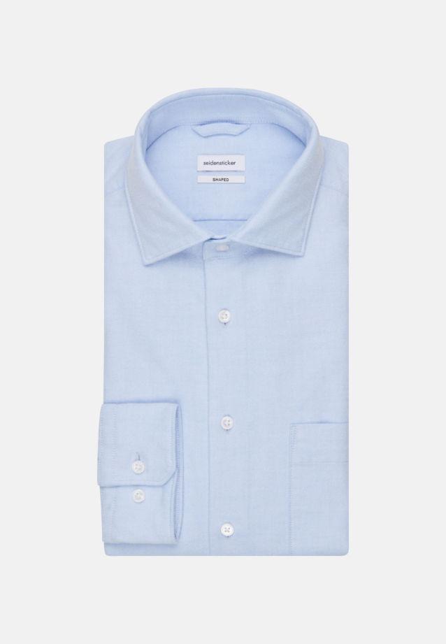 Oxford Business Hemd in Shaped mit Kentkragen in Hellblau |  Seidensticker Onlineshop