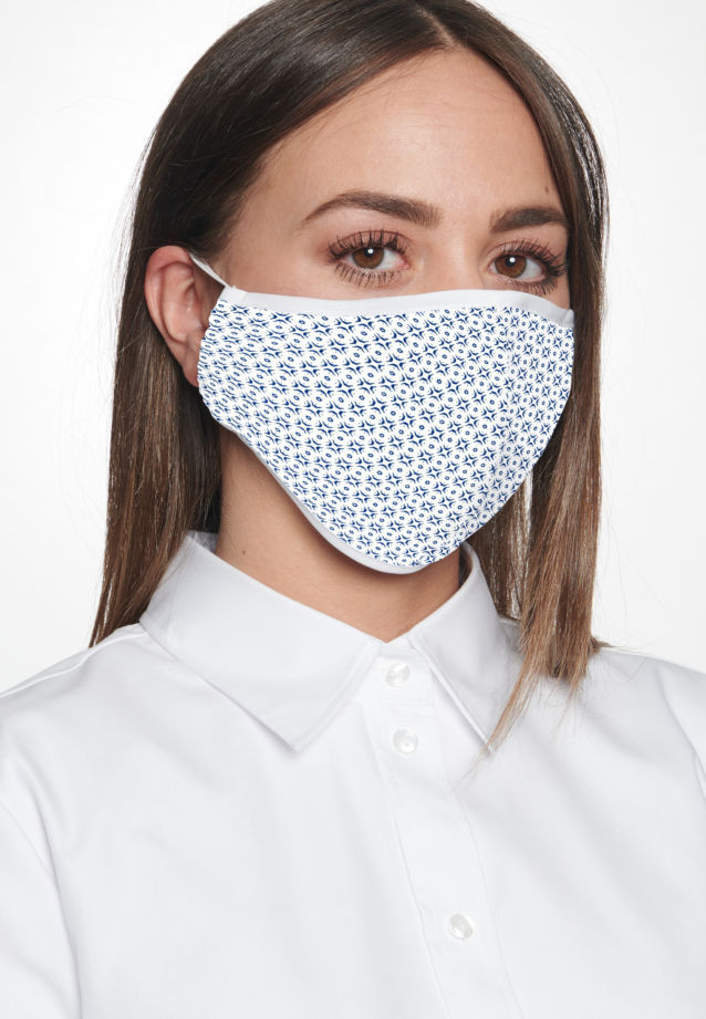 Ten-Pack Mouth and Nose Masks made of 100% Baumwolle in Grün |  Seidensticker Onlineshop