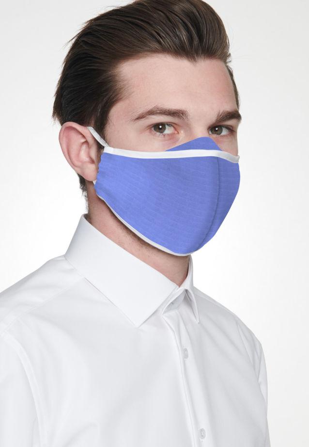 Ten-Pack Mouth and Nose Masks made of 100% Baumwolle in Light blue |  Seidensticker Onlineshop