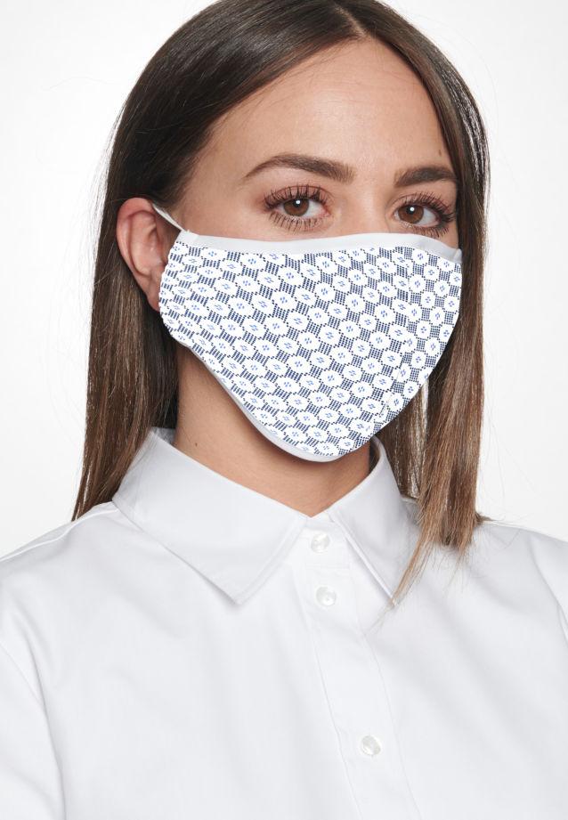 Ten-Pack Mouth and Nose Masks made of 100% Baumwolle in Blau |  Seidensticker Onlineshop