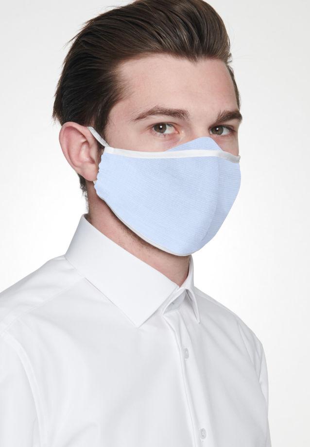 Ten-Pack Mouth and Nose Masks made of 100% Baumwolle in Hellblau |  Seidensticker Onlineshop