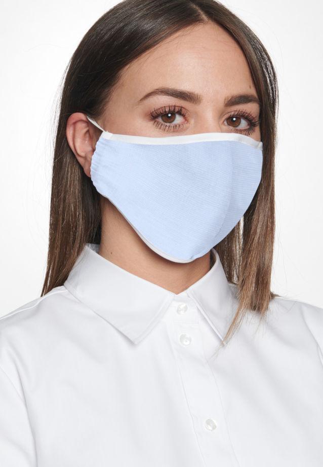 Ten-Pack Mouth and Nose Masks made of 100% Baumwolle in Hellblau    Seidensticker Onlineshop