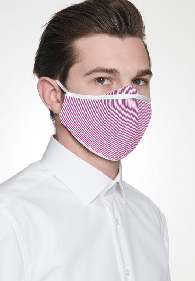 Ten-Pack Mouth and Nose Masks made of 100% Baumwolle in Rot |  Seidensticker Onlineshop