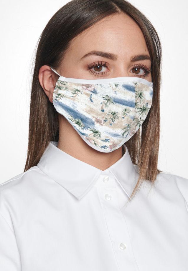 10er-Pack Mund-Nasen-Masken aus 100% Baumwolle in Ecru |  Seidensticker Onlineshop