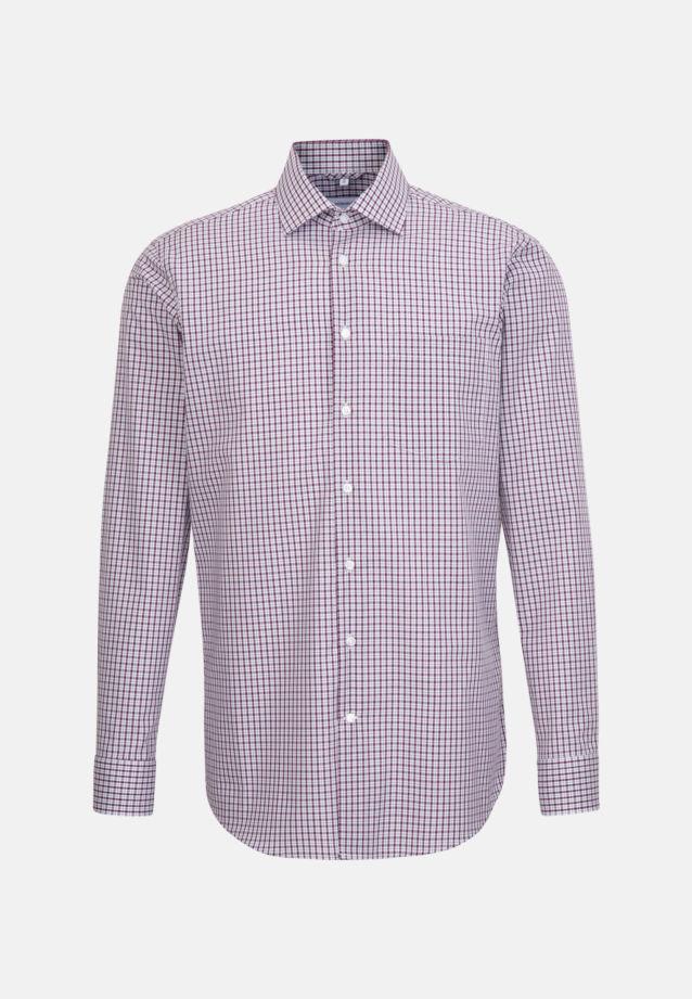Non-iron Poplin Business Shirt in Regular with Kent-Collar in Pink |  Seidensticker Onlineshop