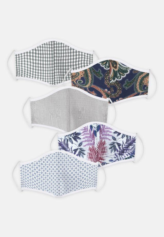 5er-Pack Mund-Nasen-Masken aus 100% Baumwolle in Pack 2 |  Seidensticker Onlineshop