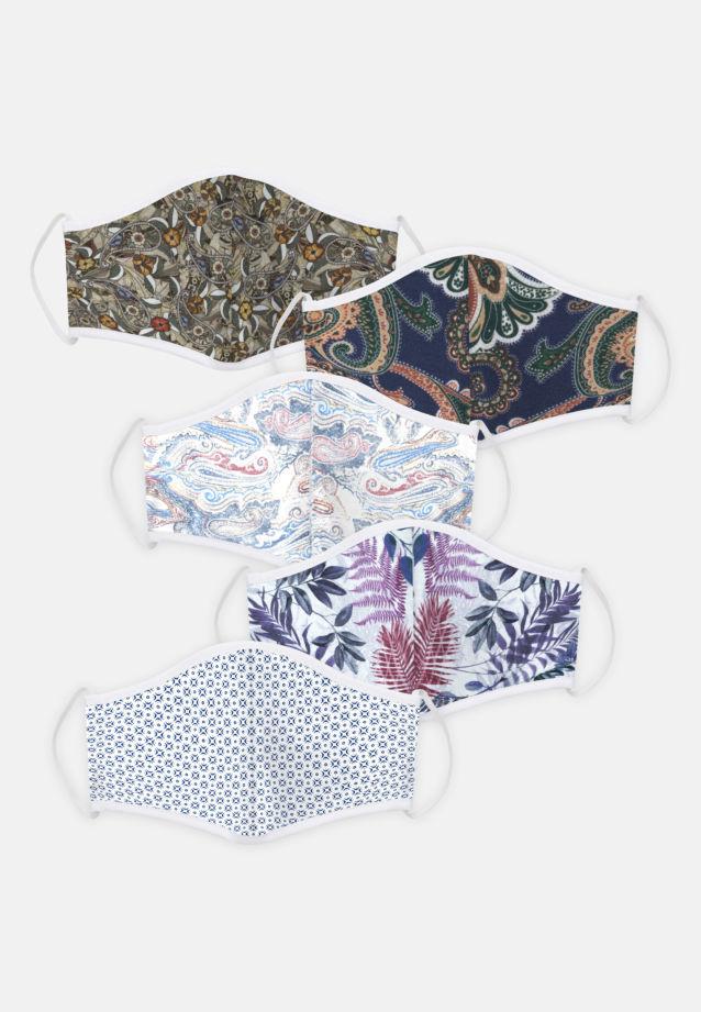5er-Pack Mund-Nasen-Masken aus 100% Baumwolle in Pack 3    Seidensticker Onlineshop